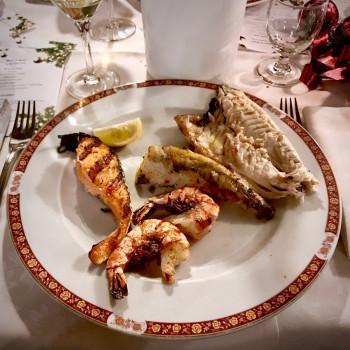 Mixed grilled fish (Lugano) (photo)