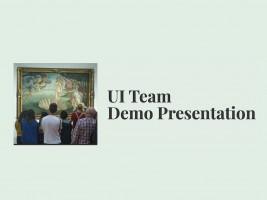 UI Team - Sprint Demo Presentation logo