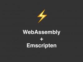 WebAssemly/Emscripten - Canvas Animation logo