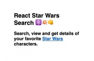 React Star Wars Search logo