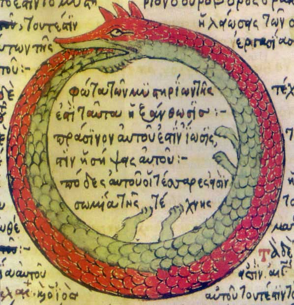 ouroboros from a 1478 drawing